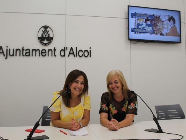 Lorena Zamorano i Paqui Ruiz / Ajuntament d'Alcoi