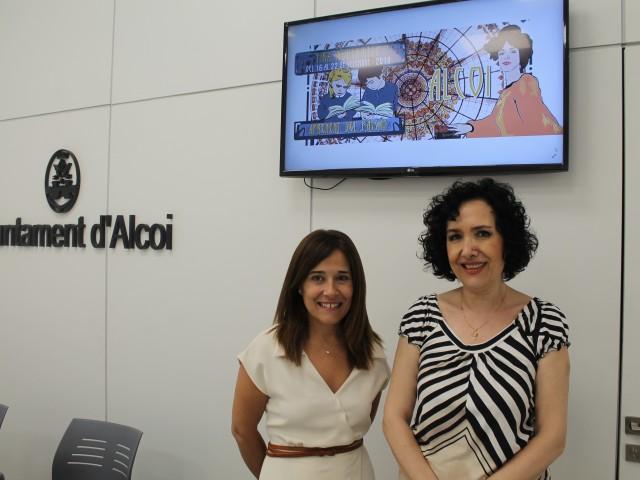 Lorena Zamorano i Alicia Santonja / Ajuntament d'Alcoi
