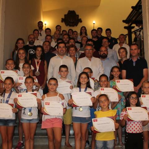 Reconeixement d'esportistes / Ajuntament d'Alcoi