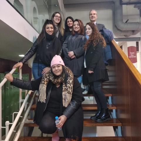 Estudiants en mobilitat / Ajuntament d'Alcoi