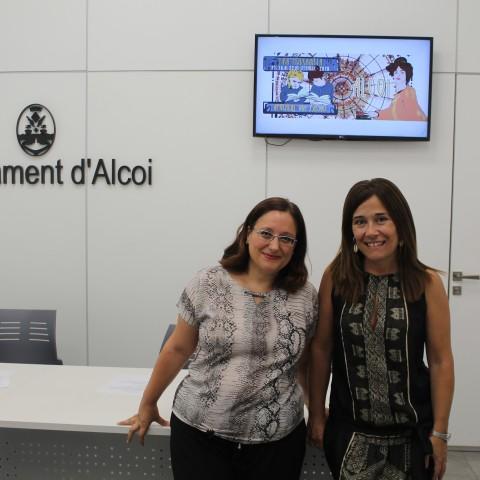 Lucía Romera (esquerra) i Lorena Zamorano (dreta).