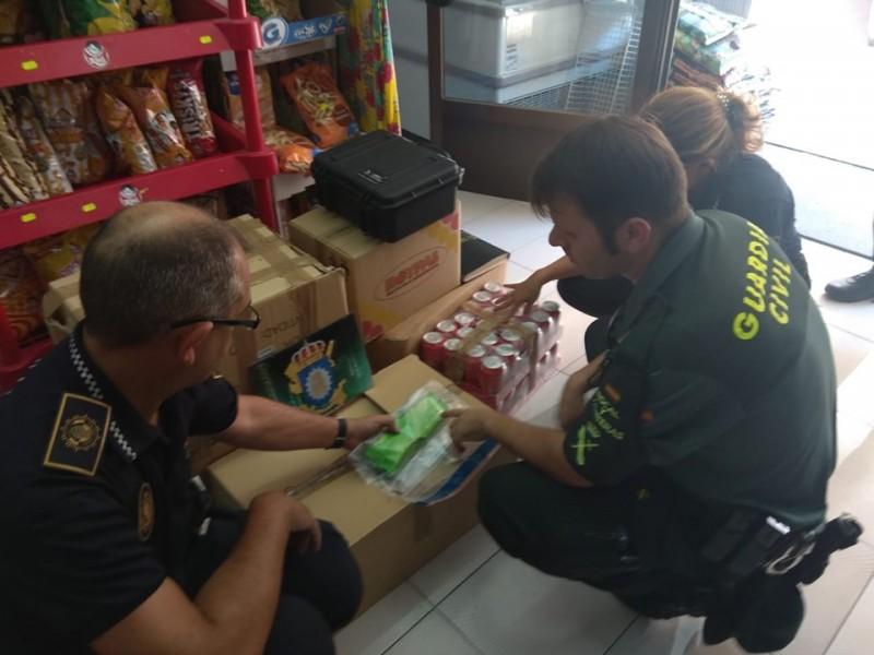 Imatge publicada per la Policia Local d'Alcoi