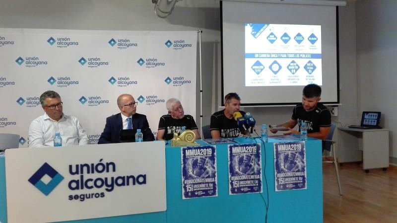 Presentació Mitja Marató d'Alcoi 2019 / AM