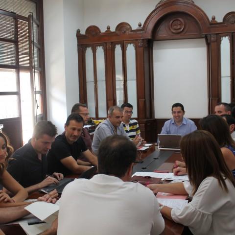 Reunió per iniciar l'Smart Office / Ajuntament