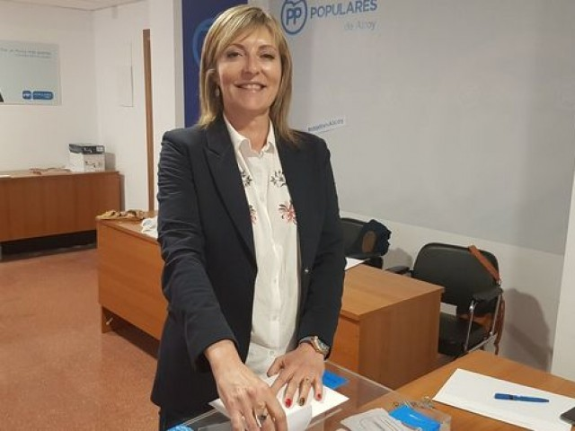 La regidora popular Amalia Payà.