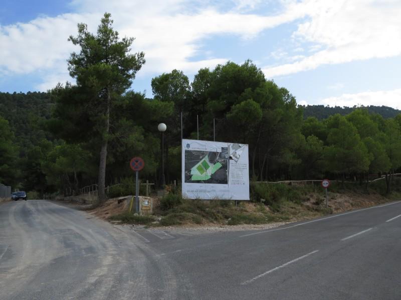 Zona de l'ampliació junt al Poliesportiu / AM