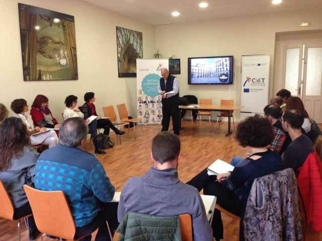 Activitat celebrada en l'aula CdT d'Alcoi.