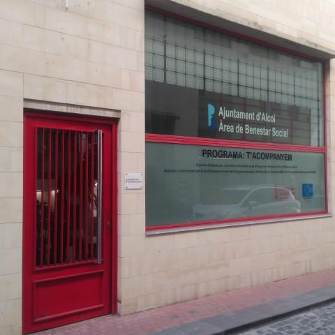 Oficines municipals de Benestar Social, des d'on es gestionen els Itineraris d'Inserció Sociolaborals.