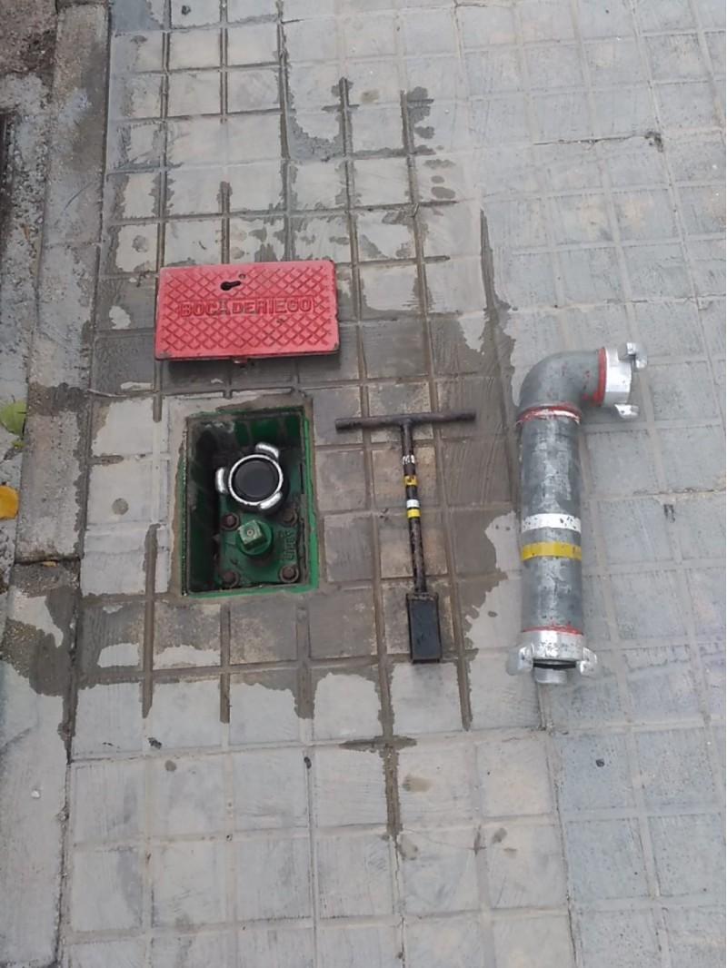 Imatge genèrica d'una clau de bombeig i subministrament d'aigua.