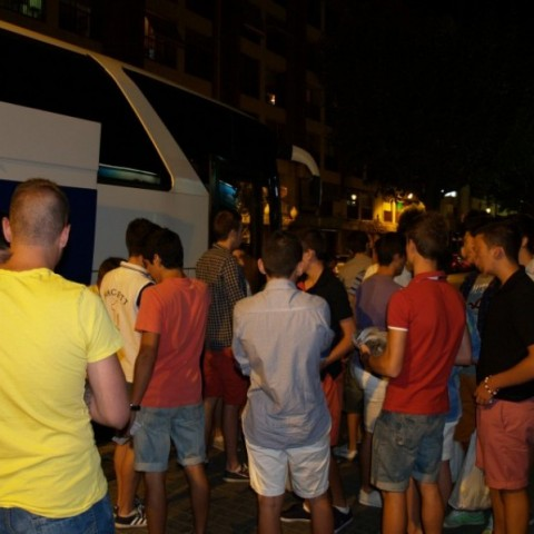 Bus de la festa a Millena, 2013