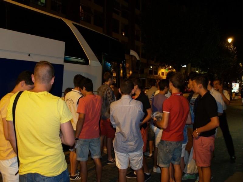 Eixida del Bus de la Festa, a Millena, en 2013.