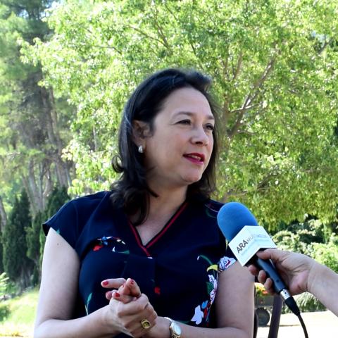 "IndiraAmaya, presidenta Associació Turisme Alacant Interior: ""Tenim un paradís mediterrani que trau sospirs a qualsevol"""