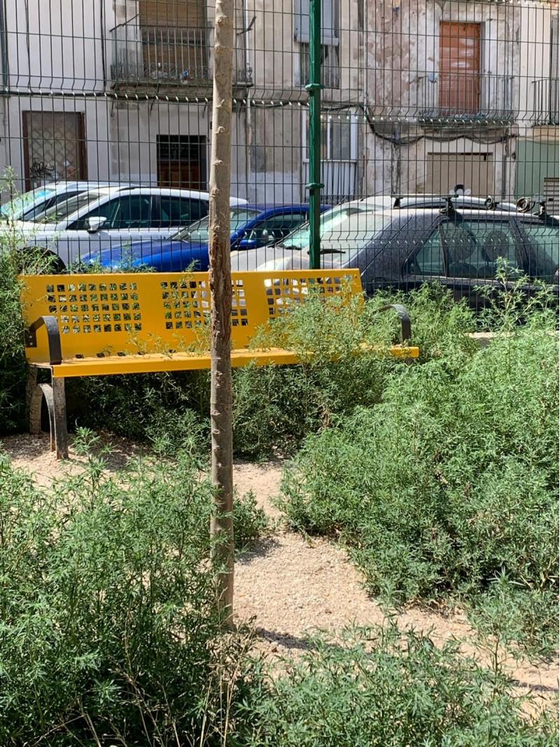 Imatge de la zona, facilitada per Compromís Alcoi