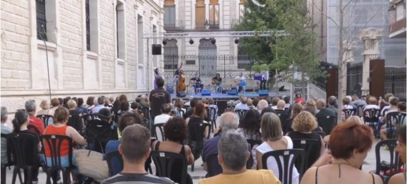Concert de Jazz a l'IVAM-CADA del Jazz Club El Mussol. Imatge d'arxiu, concert pre-pandèmia.