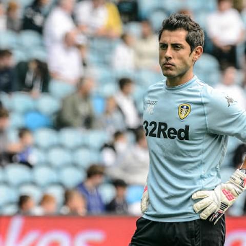 Marcos Abad al Leeds United. / Foto de Francisco Maciá per a marcosabad.com