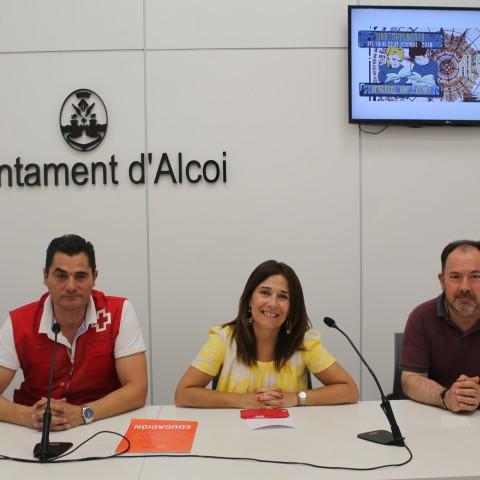 La Creu Roja dotarà de caràcter benèfic a la Fira Modernista d'Alcoi