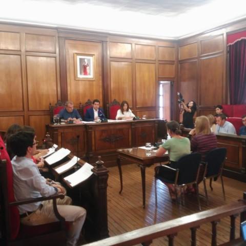Plenari municipal celebrat el 5 de juliol.