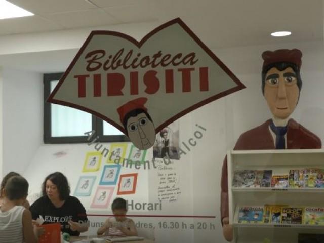 La Biblioteca Tirisiti reprén el curs amb conta contes i tallers d'animació lectora