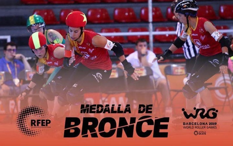 Imatge de l'equip femení de bronze / WRG
