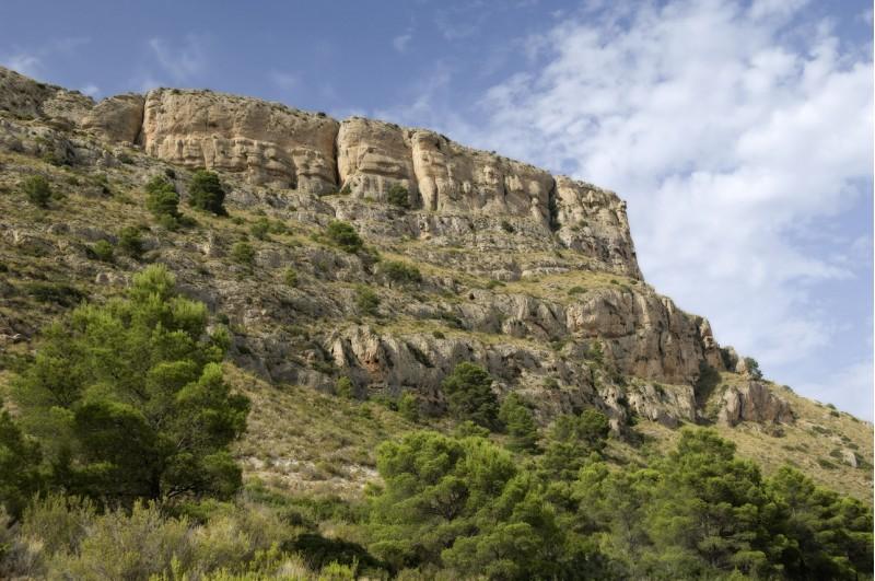 El Xorret de Catí, a Castalla, una de les ubicacions dels campaments mediambientals