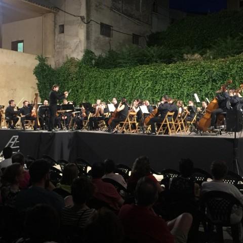 Ignacio Garcia-Vidal dirigeix a l'Orquestra Simfònica de Múrcia / AM