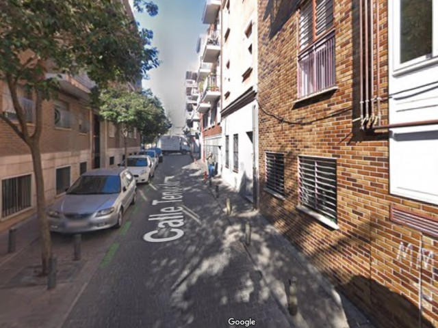 Carrer Tenerife de Madrid, on s'ha registrat la mort /GOOGLE
