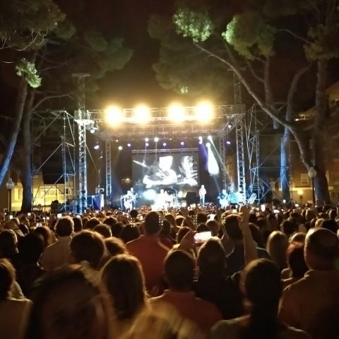 Concert en la glorieta d'Espanya d'Ibi / Ajuntament Ibi