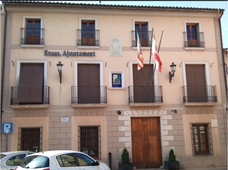 Façana de l'Ajuntament de Muro.
