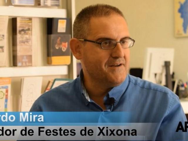 Ricardo Mira a l'entrevista