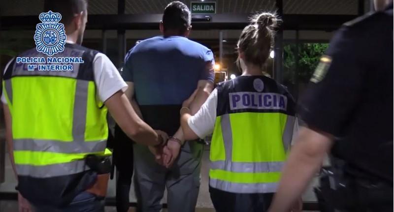 Imatge de la detenció / Policia Nacional