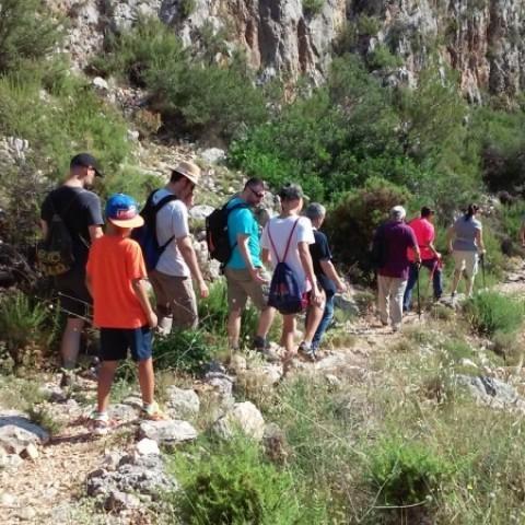 Senderisme en les muntanyes veïnes gràcies a les Mancomunitats de l'Alcoià i el Comtat i la Vall d'Albaida