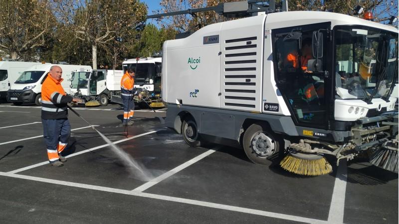 Mostra d'un vehicle de neteja / AM