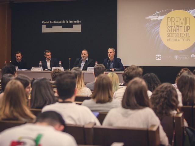 Activitat premi emprenedoria amb el CEO de El Ganso / UPV