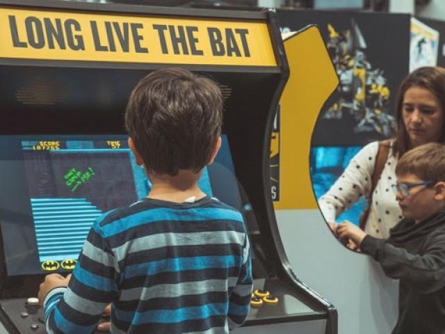 El Centre ComercialAlzamorarep la visita de Batman