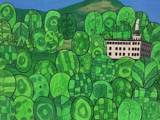 L'Horta Major aprén pintura Naïf 'pintant el món'
