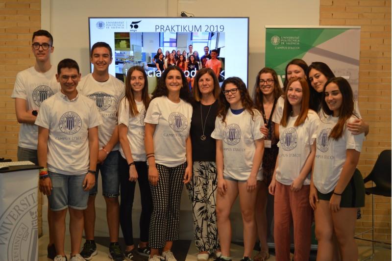 Estudiants al Praktikum / Universitat Politècnica de València Campus d'Alcoi
