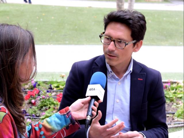 Quique Ruiz, en una entrevista recent amb ARAMULTIMÈDIA
