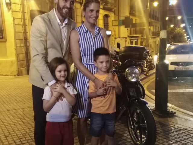 El Sant Jordiet amb la seua familia