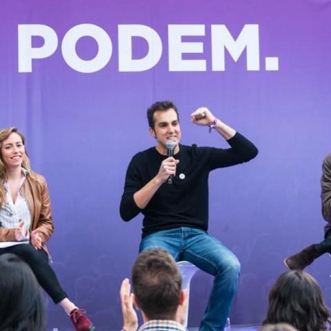 El portaveu de Guanyar Alcoi, Cristian Santiago / Facebook Podem Alcoi