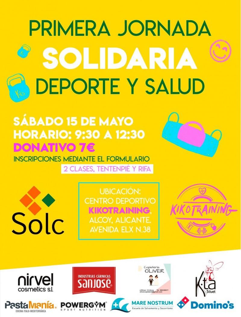 El cartell de l'experiència solidaria