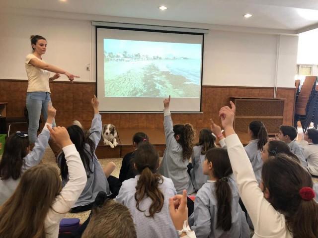 4 alumnes de Les Esclaves explicaran al PapaFranciscoun projecte sobre salut dels oceans