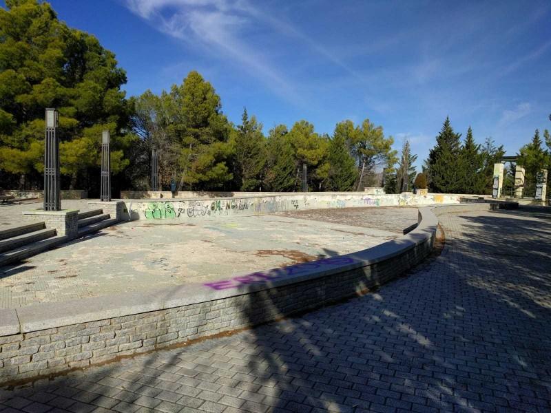 Estany on els socialistes volen instal·lar el parc aquàtic.