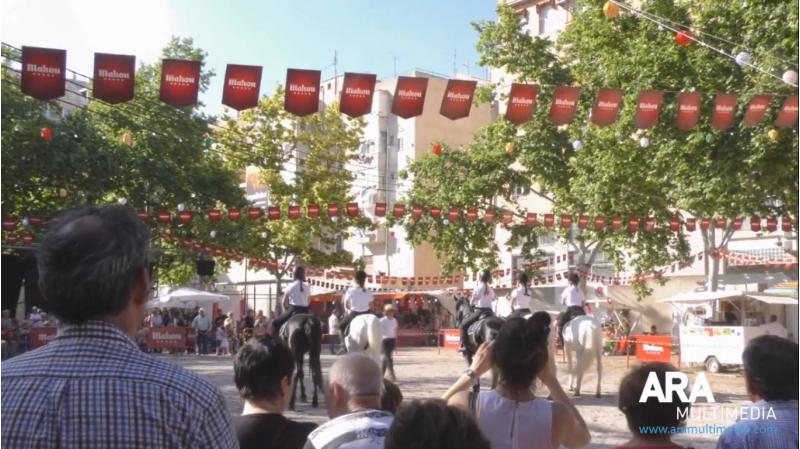 Edició 2018 de la Fira Andalusa d'Alcoi.