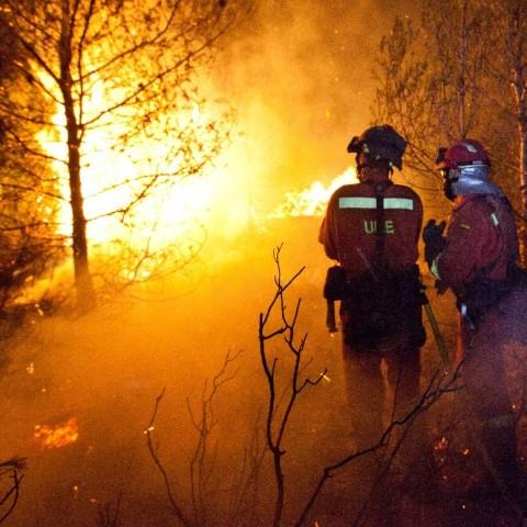 La Unitat Militar d'Emergències es prepara per a la campanya d'incendis forestals a la Foia d'Alcoi