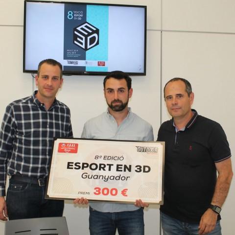 Jesús Girón, autor del cartell de l'Esport en 3D