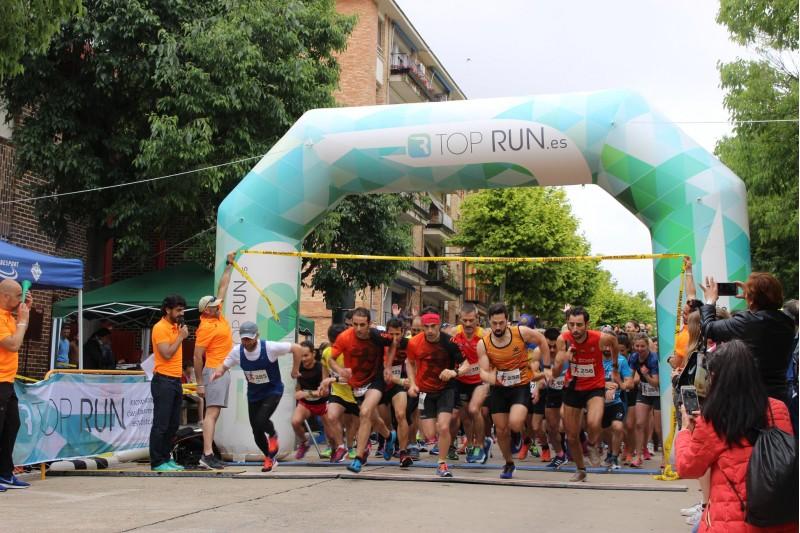 Eixida de la cursa en la seua primera edició / Facebook