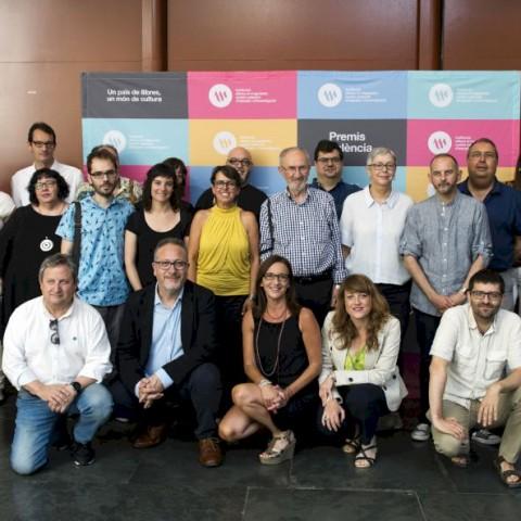 JordiPeidroguanyador del premi València i València Nova 2019