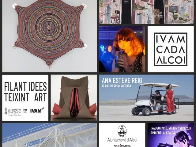Propostes a l'IVAM-CADA Alcoi per a encetar l'estiu: art tèxtil, audiovisual i música electrònica