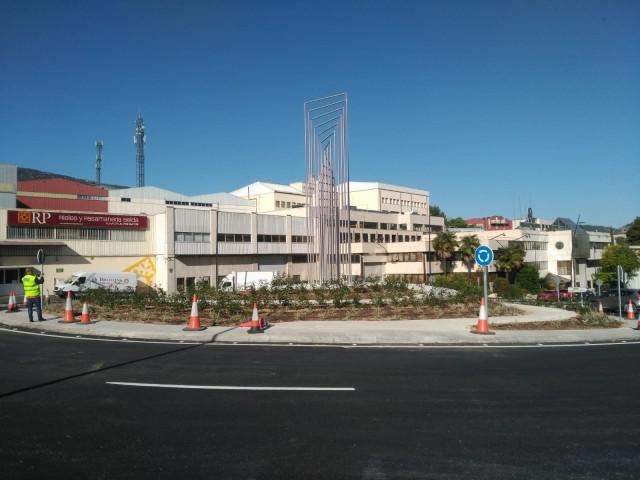 La nova rotonda d'Alcoi ja està finalitzada