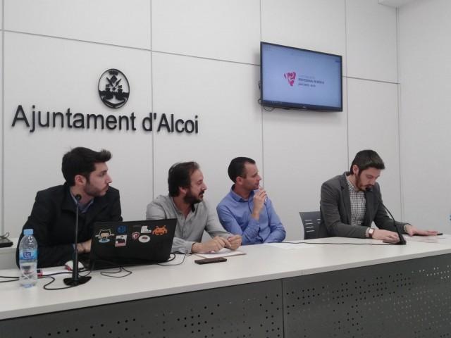 El Conservatori de Música d'Alcoi estrena web i logo